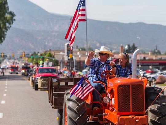 Cedar City Pioneer Day Parade, July 25, 2016.