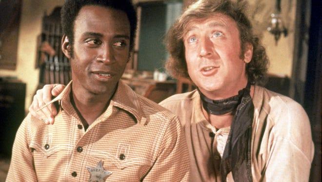 """Cleavon Little (left) and Gene Wilder star in """"Blazing Saddles"""""""
