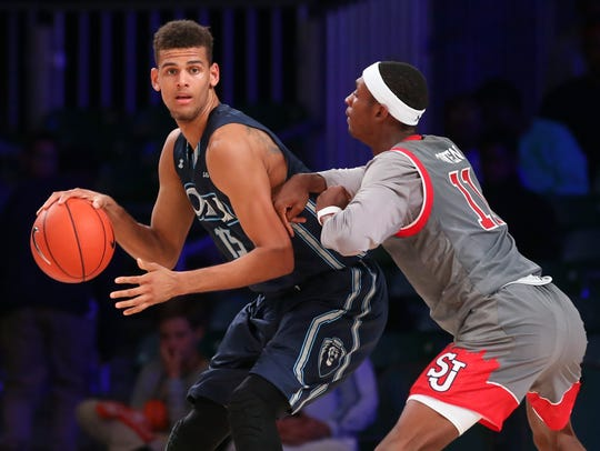 Trey Porter transferred to Nevada from Old Dominion.