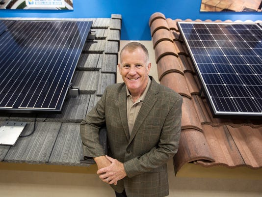 Solar power store highlights brigh potential for clean energy
