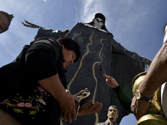Muchas personas en el centro y sur de México veneran