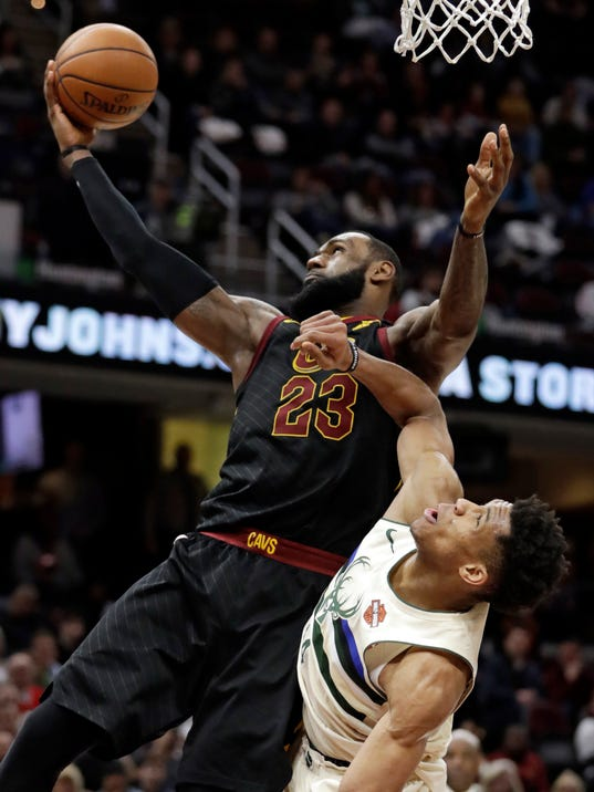 LeBron James, Giannis Antetokounmpo