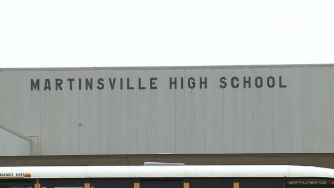 A photo of Martinsville High School
