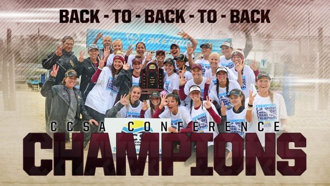 FSU wins its third straight conference title.