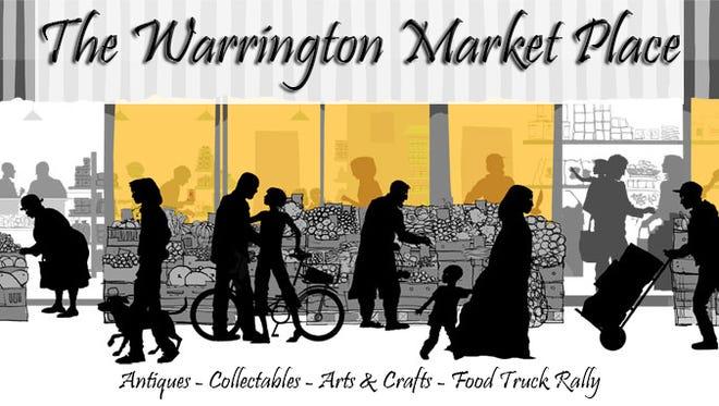 Warrington Market Place will take place Saturday, Oct. 3