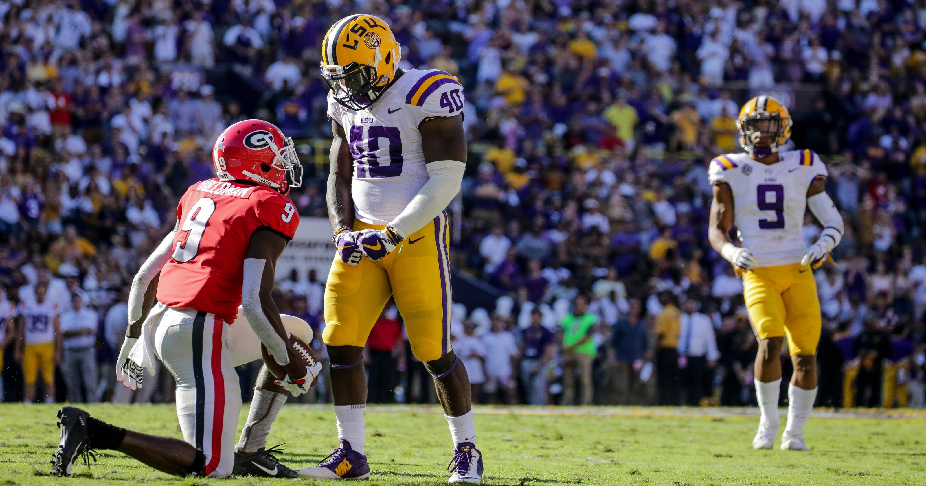 81308c74a Why I have Detroit Lions picking LSU s Devin White in Mock Draft 1.0