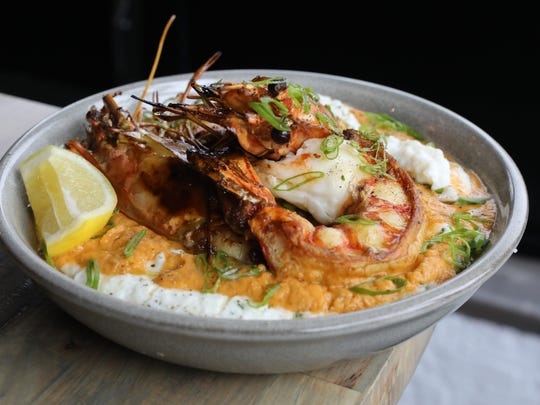 The Shrimp and Grits at Southern Table Kitchen & Bar in Pleasantville.