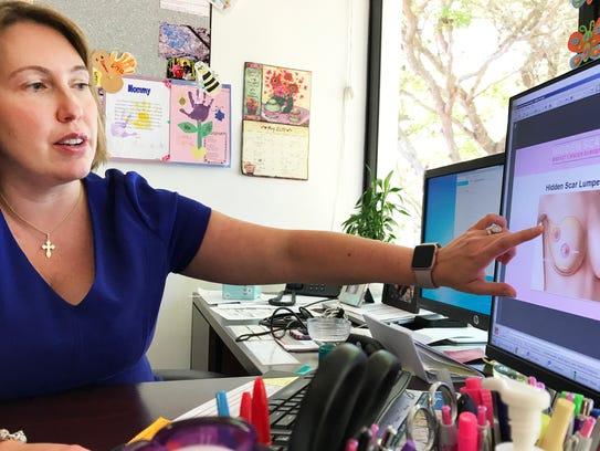 Dr. Elizabeth Ann Arguelles, a certified breast surgeon,
