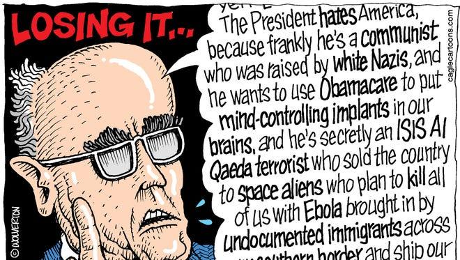 Giuliani Losing It