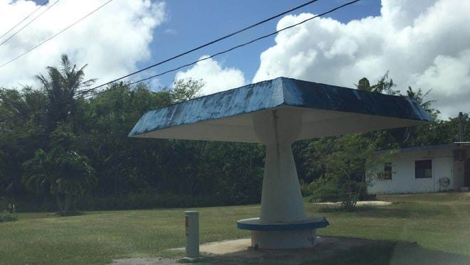 This Inarajan bus stop is available for adoption through the Islandwide Beautification Task Force. If you're interested in the Guam Seal Bus Stop Program, the Roadway Adoption Program, Adahi I Tano' Program, or any of IBTF's other projects, call 475-9383 or email lt.ibtf@guam.gov.
