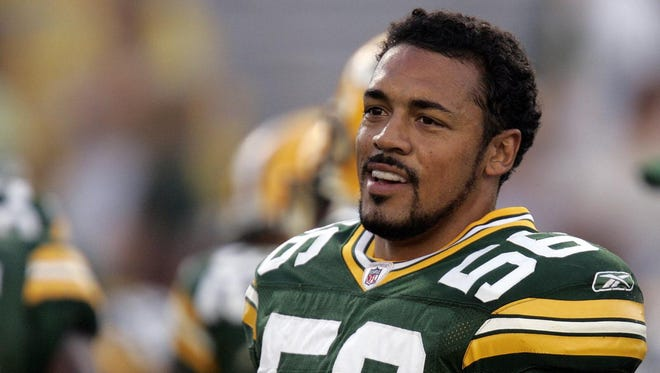 Linebacker Nick Barnett had eight solid seasons with the Packers after they picked him No. 29 in 2003.