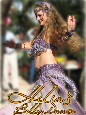 Helia is seen dancing for a birthday party in Vero Beach in 2014.