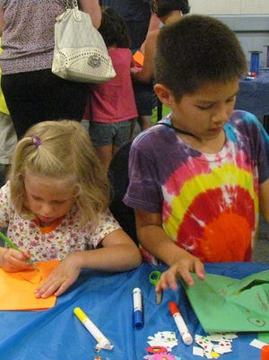 Kids can get crafty during the Summer Reading Club at the Salem Public Library.