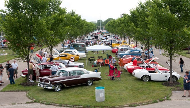 Cars R Stars at the Packard Proving Grounds in Shelby Township.
