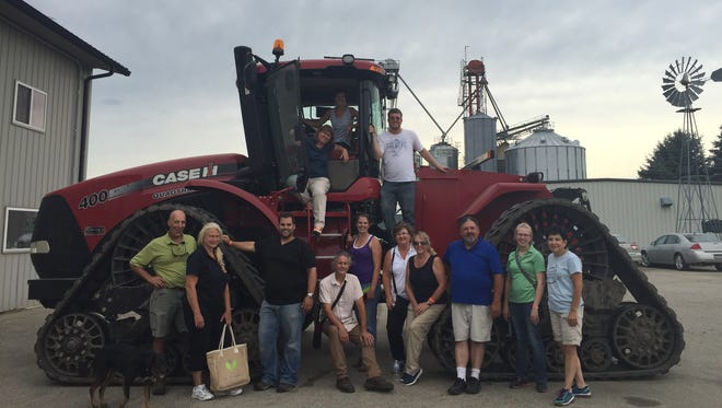 Twelve teachers from around the state participated in the Ag in the Classroom Bus Tour held July 13-14 in Beaver Dam.