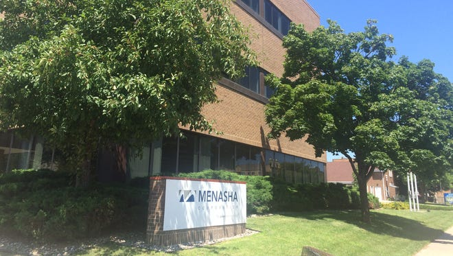 The Harbor Place building is at 100 Main St. The Menasha Joint School District purchased the property in July and asked the city to consider moving in with them.