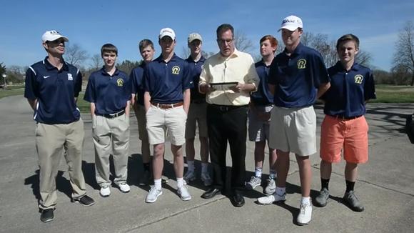 Roberson golfer Matt Sharpstene is the latest winner of the Mission Health Spotlight Performance of the Week award.