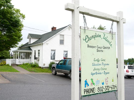 Authorities say they are investigating a series of embezzlement allegations that could exceed $100,000, including from the Grand Isle County courthouse and the Champlain Islands Parent-Child Center (pictured) in South Hero.
