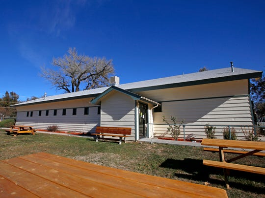 The Lower Valley Senior Center is seen on Tuesday in