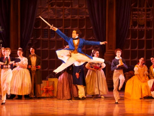 Barry Molina in Milwaukee Ballet's production of the