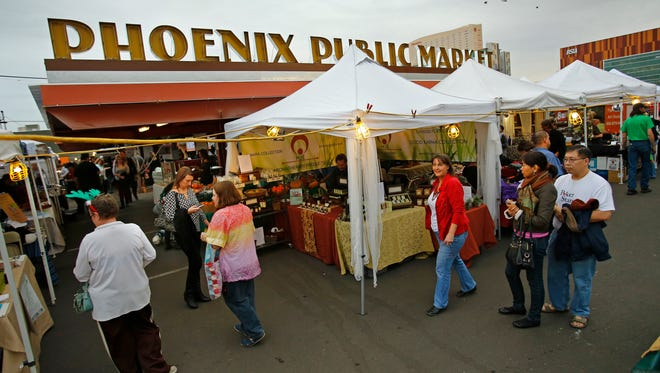 The Phoenix Public Market and its open-air market will host several events during Super Bowl week.