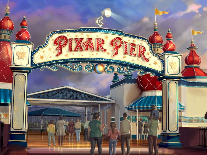 Pixar Pier at Disney California Adventure opens June