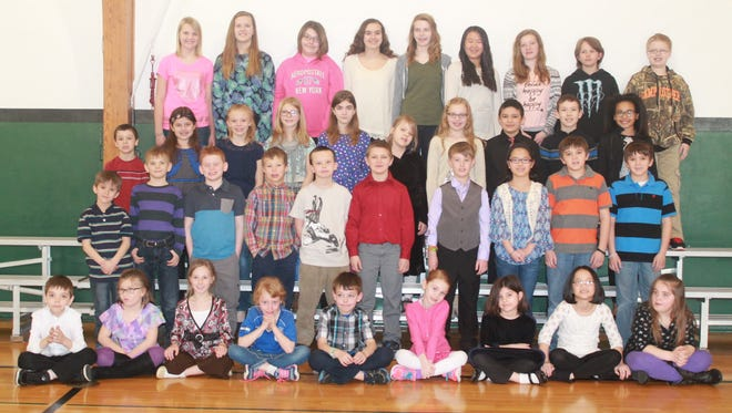 Immanuel Lutheran School of Marshfield students pictured won first or second place for their grade in one or more of the weekly contests during the school's 12th annual Accelerated Reading Challenge.