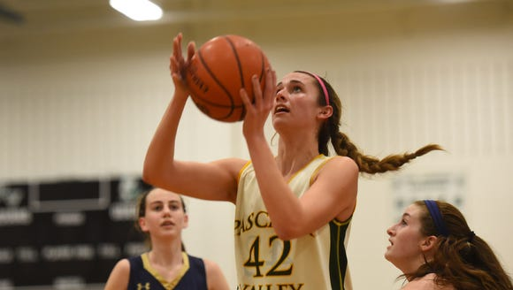 Senior guard Kelly Petro has helped Pascack Valley get off to a 7-0 start.