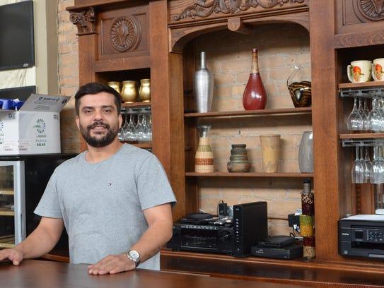 Mazi Shkreta says Dali's Café in downtown Manitowoc