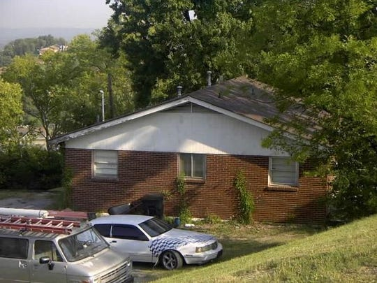 A home at 3307 Delaware Ave. on  a portion of the hilltop property where Sky Nashville is planned.
