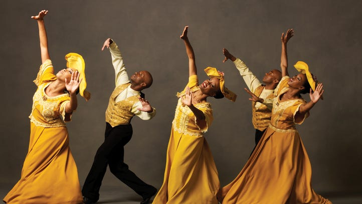 The Alvin Ailey American Dance Theatre presents its