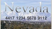 Sample Nevada food stamps card.