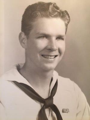 John Cooper served in the U.S. Navy during World War II.