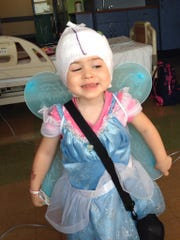 Khloe Berry, 3, of Valley Cottage. The 8th Annual Penguin Plunge will raise money for her medical needs.
