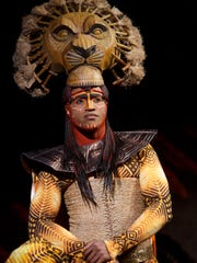 "L. Steven Taylor as Mustafa in ""The Lion King."""