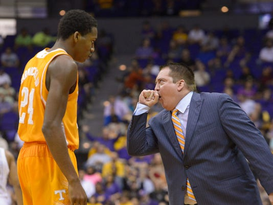 Tennessee LSU Basketball