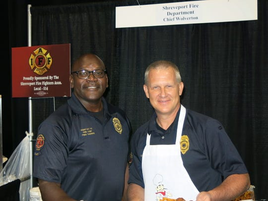 Shreveport Assistant Fire Chief Fred Sanders and Shreveport