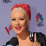 """""""Just give me one second. I'm 'bout to kill it,"""" Christina Aguilera probably."""