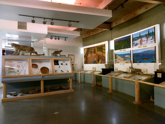 Exhibits at the Chumash Indian Museum in Thousand Oaks