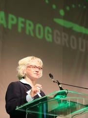 Leah Binder is CEO of the Leapfrog Group, which rates
