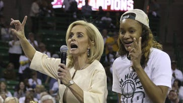 Kim Mulkey apologizes for saying 'punch them in the face' of Baylor critics