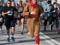Thanksgiving Day 'turkey trots' part of growing national holiday tradition