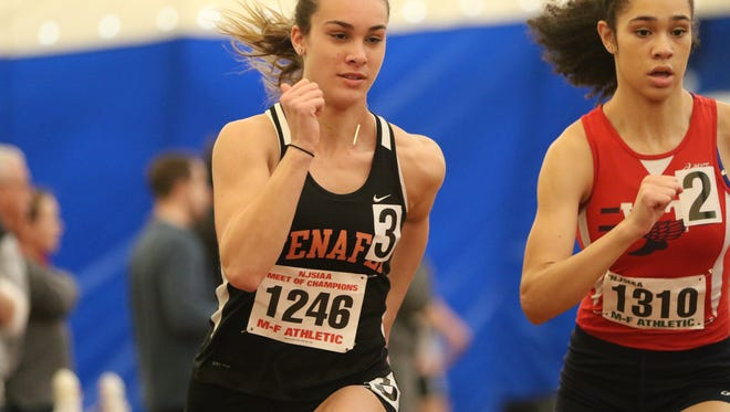 Lexi Del Gizzo of Tenafly was one of the gold medal winners on Tuesday.