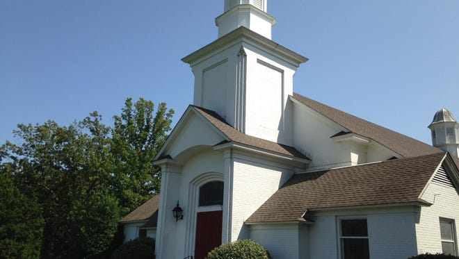 First Christian Church, 1347 Campbell St., is closing; the asking price for the property is $845,000.