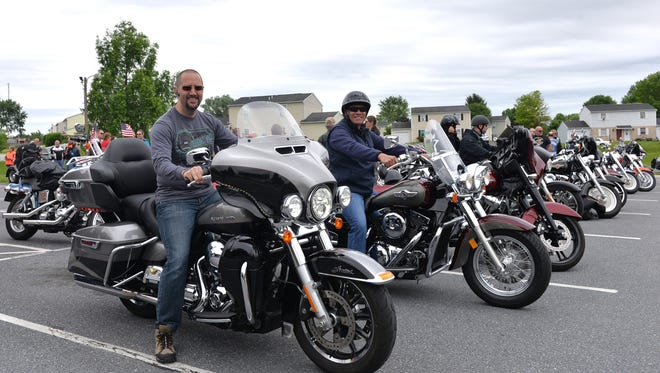 Approximately 100 riders participated in the 14th Annual Ride for Wise. The ride which honors fallen Reading City Police Officer Michael H. Wise, a Lebanon County native, began at Reading Area Community College and ended at the Cleona Borough Police Department on Sunday, June 3, 2018.