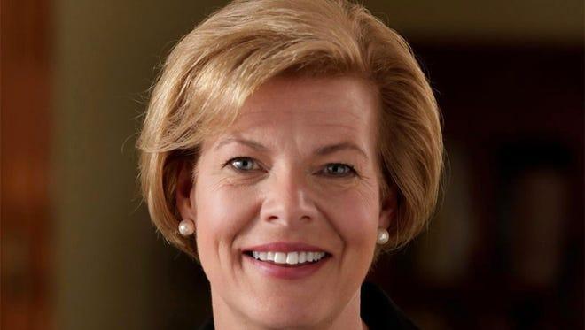 Democratic U.S. Sen. Tammy Baldwin.