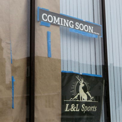 L&L Sports, run by Louis Zacchio, will be located at