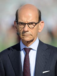 Broadcaster Paul Finebaum.