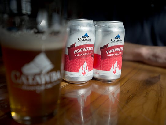 Catawba Brewing's Firewater IPA is a popular local