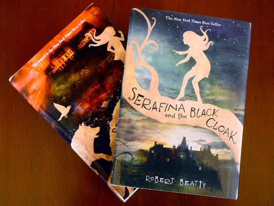 """Robert Beatty is the author of """"Serafina and the Black"""